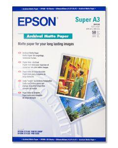 Carta fotografica Epson A3+ opaca