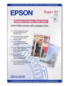 Carta fotografica Epson A3+ semilucida